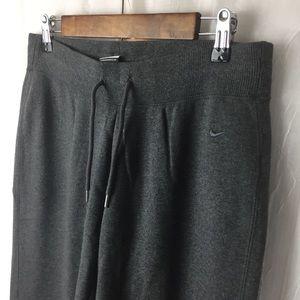 Men's Nike Dark Gray Sweatpants size medium EUC!
